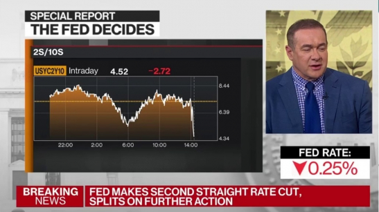 """Fractured"" FOMC Lowers Interest Rate as..."