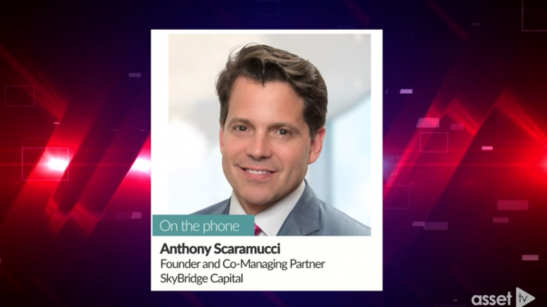 Anthony Scaramucci: U.S. Headed Toward a...