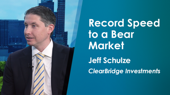 Record Speed to a Bear Market
